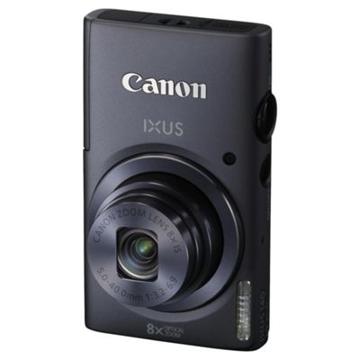Canon IXUS 140 Digital Camera Grey 16 MP 6x Optical Zoom 3 Inch LCD