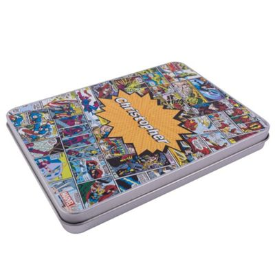 Marvel Comics Personalised Stationery Tin Set