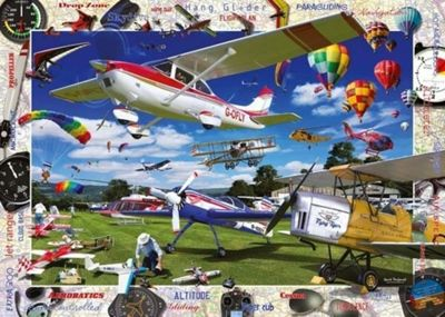 Take to the Skies - 1000pc Puzzle