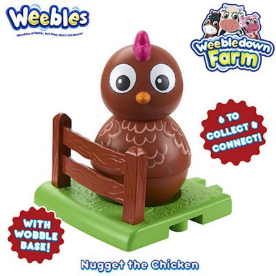 Weebledown Farm Weebles - Nugget the Chicken Weeble