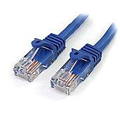 StarTech Cat5e Patch Cable with Snagless RJ45 Connectors - 5 m Blue