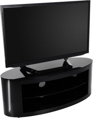 AVF Buckingham Black TV Stand for up to 55 inch