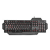 SPEEDLINK Rapax Stealth Compact Red LED Illumination Gaming Keyboard - UK Layout - Black