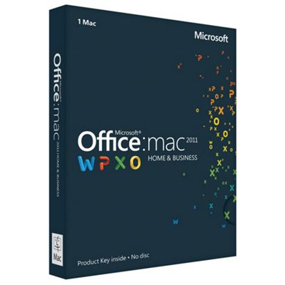 Microsoft Office Home & Business 2011 for Mac