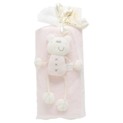 Lollipop Lane Fleece & Teddy, Blossom Pink