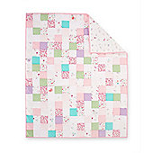 Mothercare Baby Bedding My Little Garden Patchwork Quilt Size cot/cot bed