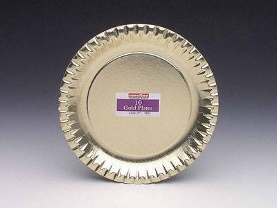 Caroline T1952 Plate Gold 9In X10