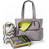 Skip Hop FORMA Pack & Go Tote Bag - Grey