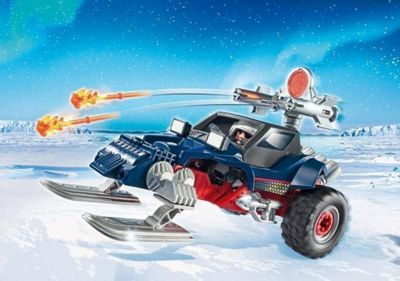 Playmobil Ice Pirate with Snowmobile