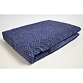 Mason Grey Chenille Spot Ink Throw - 180x125cm