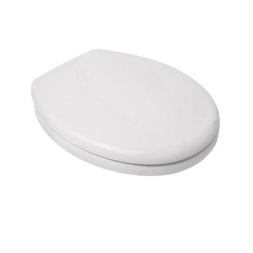 Croydex Safeflush Toilet Seat White