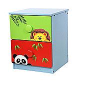 Fantasy Fields by Teamson Sunny Safari 2 Drawer Cabinet