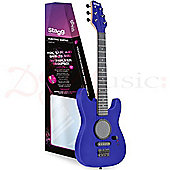 Stagg 1/2 Size Kids Electric Guitar With Amp - Blue