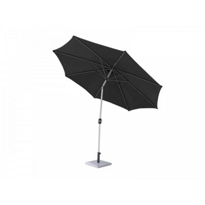 Market Parasol in Black and Vanilla