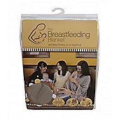 Bebitza Breast Feeding Blanket - Antibacterial & UV Waffle - Taupe