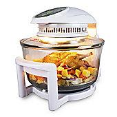ElectrIQ 17 Litre Hinged Digital Premium Halogen Oven + Full Accessories pack - HOV17D