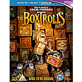 The Boxtrolls (3D Blu-ray)