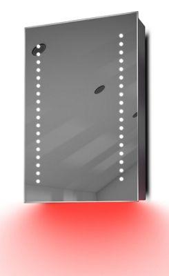 Demist Cabinet With LED Under Lighting, Sensor & Internal Shaver Socket K345r