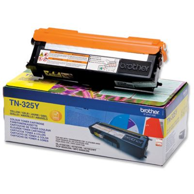 Brother TN325Y Laser Toner Cartridge - Yellow
