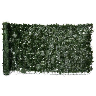 Artificial Green Leaf Hedge Roll (1m x 3m)