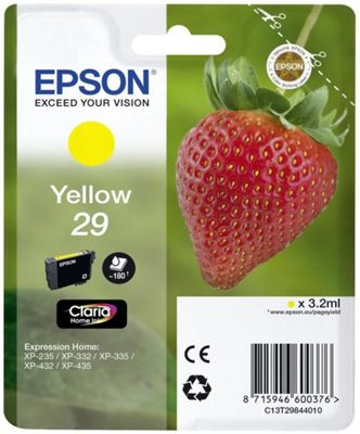 Epson C13T29844022 3.2ml 180pages Yellow ink cartridge