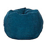 Kaikoo Cord Bean Bag Blue