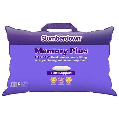 Slumberdown Memory Foam Pillow