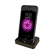 Black Docking Stand for iPhone 5, 5S, 5C & 6