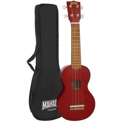 Mahalo 2500 Kahiko Series Soprano Ukulele - Red