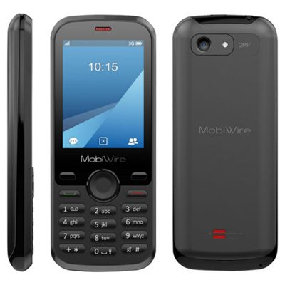 Tesco Mobile Mobiwire Aponi 3G with camera - Black
