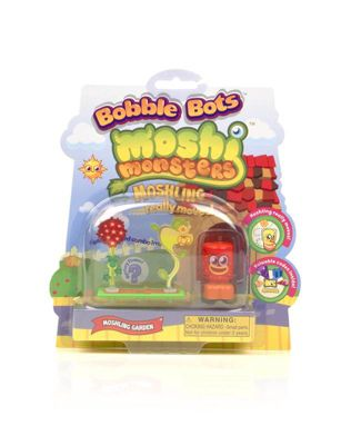 Moshi Monsters Bobble Bots Moshi Figure Flower