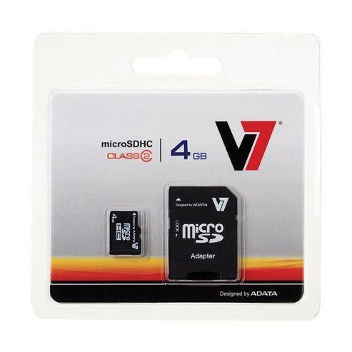 V7 4GB Micro SDHC Card - Class 2