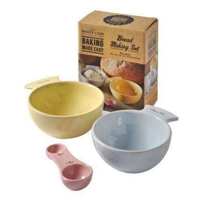 Mason Cash Bread 3 Piece Making Set
