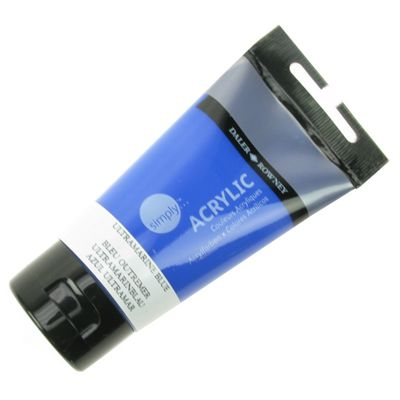 Daler Simply Acrylic Ultramarine Blue 75ml