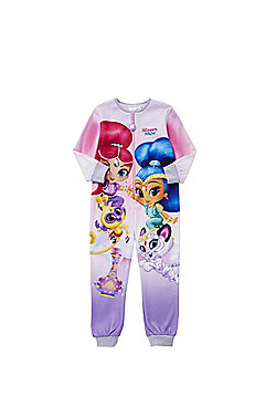 Nickelodeon Shimmer and Shine Fleece Onesie - Pink & Multi