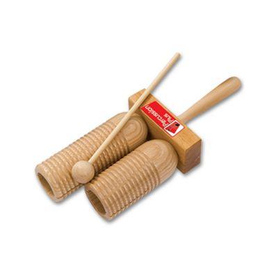 Percussion Plus Double Wooden Agogo