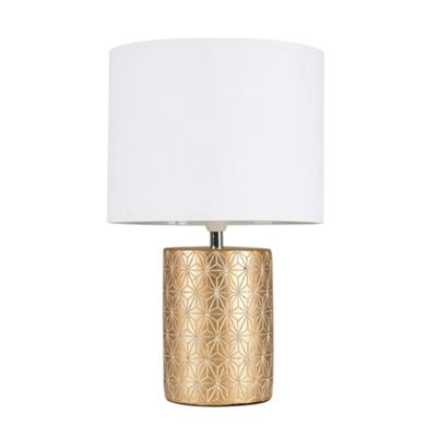 Constellation Table Lamp - Gold & White