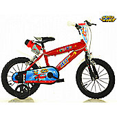 Super Wings 14 Inches Children's Bike - Dino Bikes