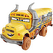 Disney Pixar Cars 3 Crazy 8 Crashers Deluxe Vehicle - Miss Fritter
