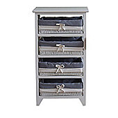 Ashley 4 Drawer Storage cabinet