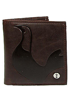Mad4Football Tottenham Hotspur FC Luxury Lined Wallet - Brown.