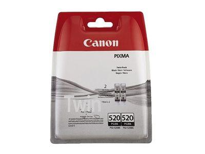 Canon PGI-520 Black Ink Cartridge (Twin Pack)