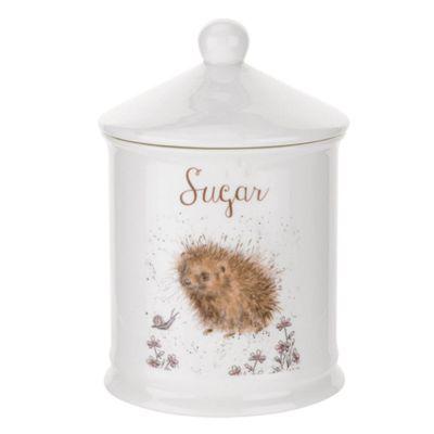 Royal Worcester Wrendale Designs Sugar Canister, Hedgehog