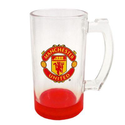 Manchester United FC Glass Tankard