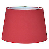 40cm Redcurrant Tapered Poly Cotton Shade