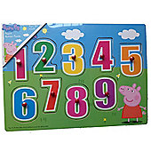 Peppa Pig Number Peg Puzzle