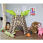 Bazoongi Play Tent Palm Tree By JumpKing