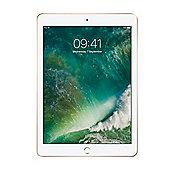 "Refurbished Apple iPad 9.7"" (2017) 32GB, WiFi & 4G - White/Gold"