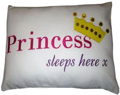 Princess Sleeps Cushion