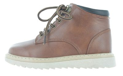 Boys Buckle My Shoe Brown Tan Ankle Boots Back to School Zip Up UK Child Size 10
